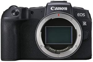 Canon EOS RP - Best Mirrorless Camera