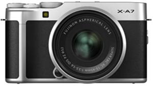 Fujifilm X-A7 - Best Mirrorless Camera