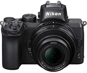 Nikon Z 50 DX - Best Mirrorless Camera